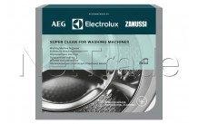 Electrolux - Dégraissant super clean pour machine à laver (2 sachets) - 9029799310