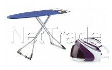 Domo - Centrale vapeur violet 160 g/min - 7,5 bar + planche à repasser gratuite - DO7110S