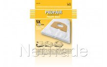 Propair - Sac aspirateur propair oslo plus set 5 pieces + 1 filtre