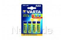 Varta - Batterie rechargeable ni-mh aaa 800 mah r2u 4 st - 56703101404