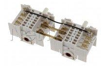 Whirlpool - Interrupteur taque de cuisson - double - C00313031