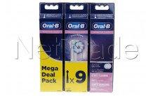Oral-b - Brosse a dents - eb60 sensi ultrathin refills 3+3+3 - 80339524