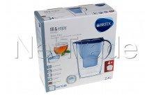 Brita - Marella cool blue + 4 x maxtra+ cartouches filtrantes - 1040846