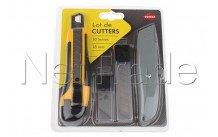 Cogex - 60354 cutter bimatière + couteau lino