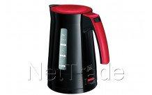 Melitta bouilloire enjoy aqua noir rouge - 6596347