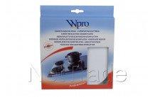 Wpro - Couvre plaque blanc 165mm - 481944031807