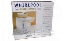 Whirlpool - Cadre intermediaire avec étendoir à linge - 481281719157