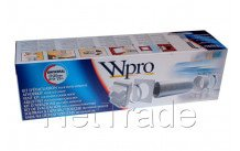 Wpro - Kit d'installation complet pour hotte diam 120/125 - 481281719166