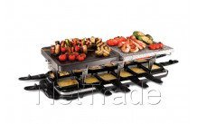 Russell hobbs - Classic 12 pan raclette + pierre + grille de cuiss - 1956056