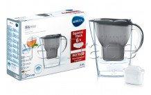 Brita - Marella cool graphite  pack 6 mois - cartouches de filtration d'eau - 1039251