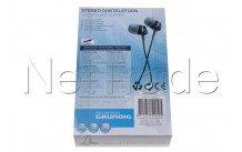 Universel - Ecouteurs in-ear 3.5mm 1.2m - 50910