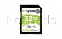 Kingston technology canvas select 32gb sdhc uhs-i klasse 10 flash memoire - SDS232GB