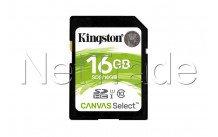 Kingston technology canvas - SDS16GB