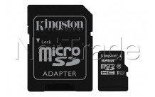 Kingston canvas select microsd uhs-i class 10 card 32gb - SDCS232GB