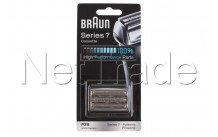 Braun - Cassette de rasage pulsonic - serie 7 - 70s - silv - 81387979