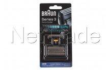 Braun - Combi pack 7000 - synchro + pro 30b zwart - 81387936
