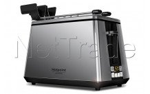 Hotpoint - Grille-pain / toaster ultimate collection digital - TT22EUP0