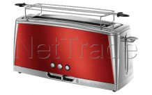 Russell hobbs - Grille pain - luna -  solar red long slot - 2325056