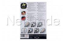 Rosieres - Sac aspirateur hygiene aromatic - ZR200920