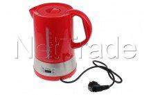 Tecnolux - Bouillloire avec sélection de la temprérature , capacité 1.70l, puissance 1850w, couleur rouge - PB17M1RT