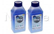 Wpro - Dégraissant / détertrant 2 en 1 lave vaisselle 250 ml  pack de 2 - 484000008847