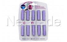 Whirlpool - 10 cartridges for vacuum cleaner lavande - 484000008607