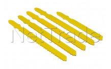 Cogex - Lame pour scie sauteuse 5 pièces. compatible