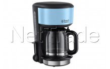 Russell hobbs - Cafetiere colours plus heavenly blue-  verseuse en verre - 2013656