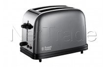 Russell hobbs - Grille pains colours storm grey long slot - 2139256