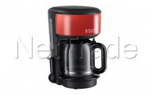 Russell hobbs - Cafetiere colours flame red - 2013156
