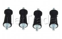 Universel - Suspension droite 4 cm - set de 4 pcs. - 8996451873401