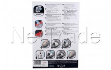 Rowenta - Sac aspirateur (emb. 4pcs) ro07 - ZR200520