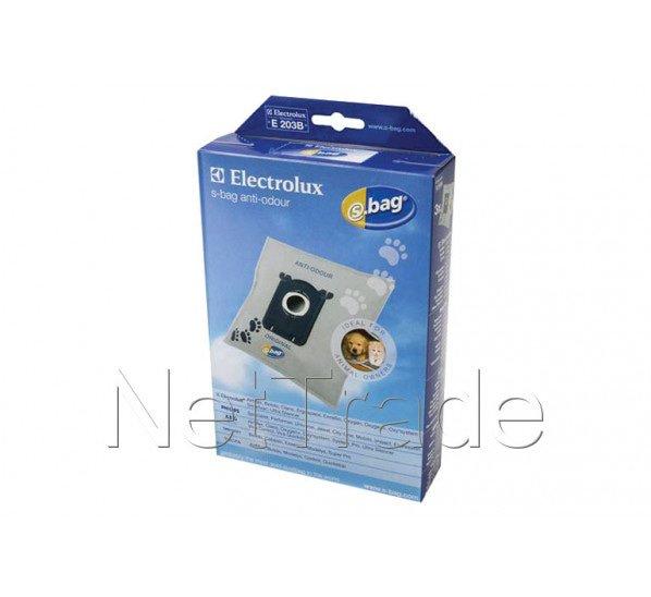 electrolux sac aspirateur s bag anti odeur e203b 4 pieces 9001660068. Black Bedroom Furniture Sets. Home Design Ideas
