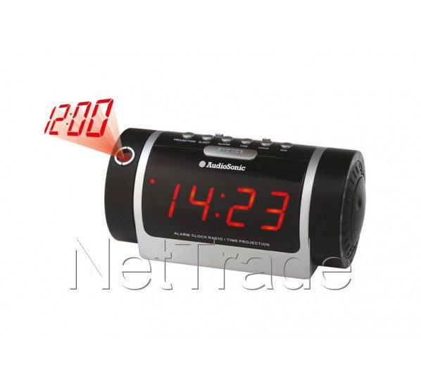 audiosonic radio r veil projecteur cl1485. Black Bedroom Furniture Sets. Home Design Ideas