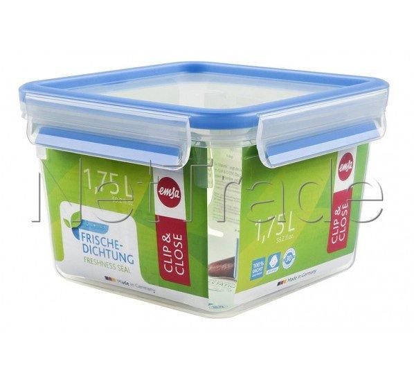 Emsa - Clip & close boite alimentaire  carree  - 1.75l - 508537