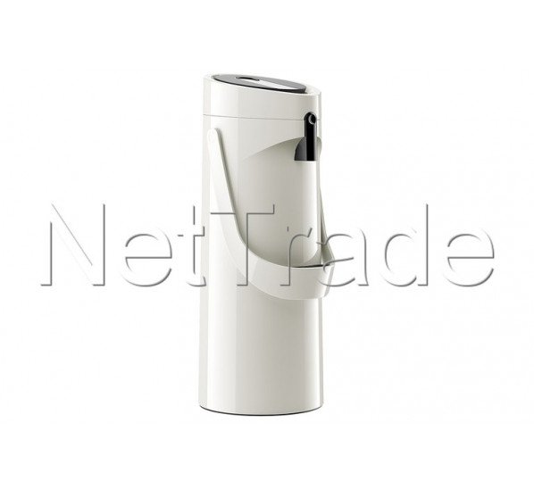 Emsa - Ponza thermos avec pompe vacuum jug hg - 1,9l white - 515707