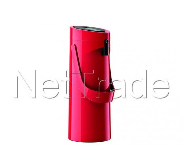 Emsa - Ponza thermos avec pompe vacuum jug hg - 1,9l red - 515708