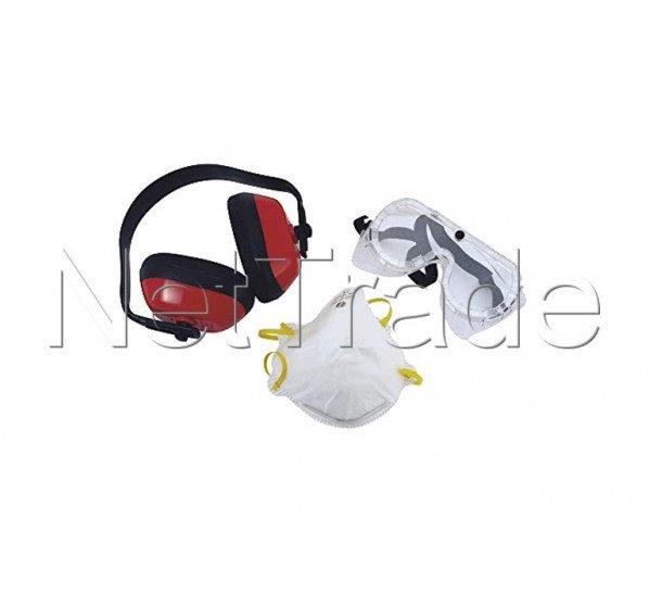 Cogex - Kit de protection 3 pièces composé de : lunettes d - 77501