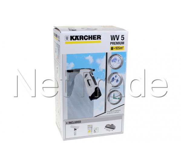 karcher nettoyeur de vitres wv 5 premium plus white 16334550. Black Bedroom Furniture Sets. Home Design Ideas